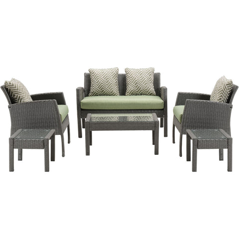 hanover-chelsea-6-piece-seating-set-loveseat-2-side-chairs-2-side-table-coffee-table-chel-6pc-grn