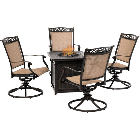 hanover-fontana-5-piece-4-sling-swivel-rockers-and-26-inch-square-fire-pit-fnt5pcswfpsq