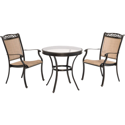 hanover-3-piece-bistro-set-30-inch-glass-top-table-2-sling-dining-chairs-includes-cover-fntdn3pcg-sc