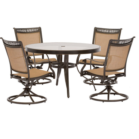 hanover-fontana-5-piece-4-sling-swivel-rockers-48-inch-round-glass-top-table-fntdn5pcswg