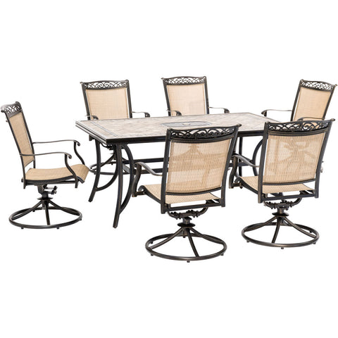 hanover-7-piece-dining-set-40x68-inch-tile-top-table-6-sling-swivel-rockers-cover-fntdn7pcswtn-sc