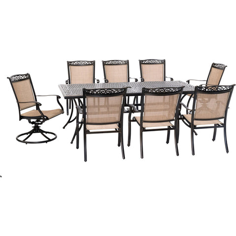hanover-fontana-9-piece-6-dining-chairs-2-swivel-rockers-42x84-inch-cast-table-fntdn9pcsw2c