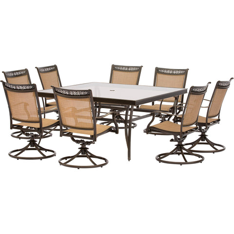 hanover-9-piece-dining-set-60-inch-square-glass-top-table-8-sling-swivel-rockers-cover-fntdn9pcswsqg-sc