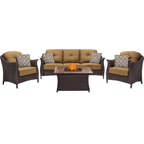 hanover-gramercy-4-piece-seating-fire-pit-set-with-tan-tile-top-gram4pcfp-tan-tn