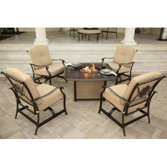 Hammond Adams 5pc fire pit table set ADAMS5PCFP
