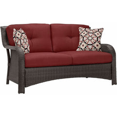 Hammond Atlantic 6Pc Patio Conversation Set With Loveseat, Ottomans