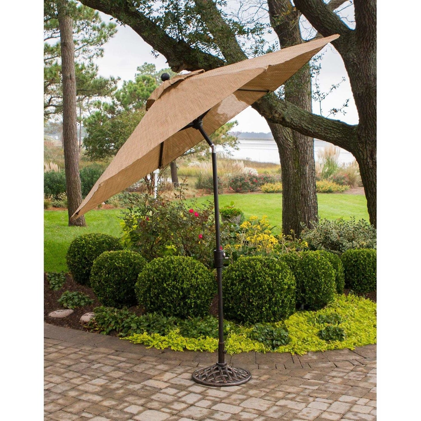 Hammond Brandywine 9-Feet Tiltable Umbrella - M&K Grills