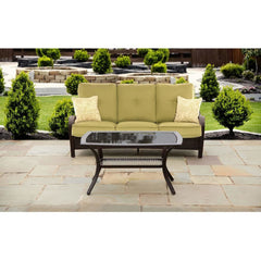 Hammond Brentwood Outdoor Conversation Set Sofa and Coffee Table