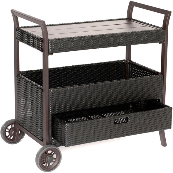 Hammond Patio Cart On Wheels - M&K Grills