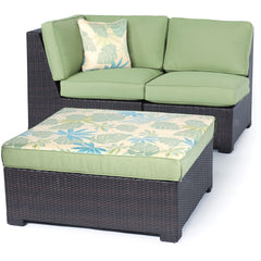 Hammond Stratton 5Pc Outdoor Conversation Set Ottoman And Loveseat