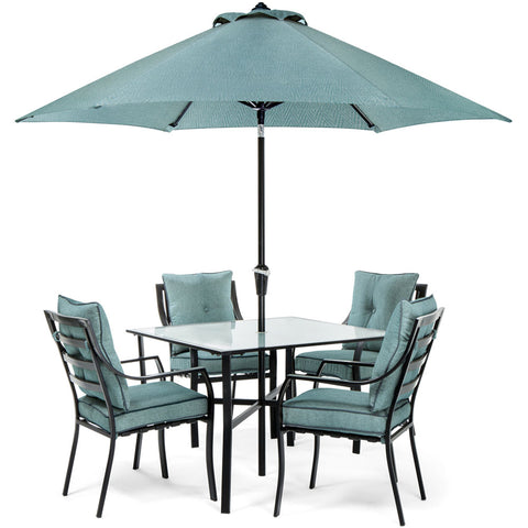 hanover-5-piece-dining-set-4-chairs-square-table-1-umbrella-1-umbrella-base-lavdn5pc-blu-su