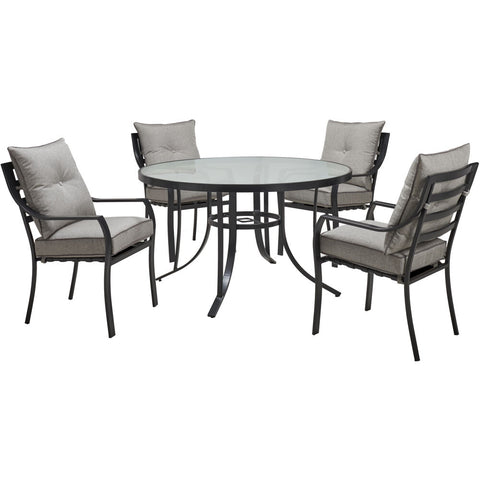 hanover-lavallette-5-piece-4-dining-chairs-and-round-glass-table-lavdn5pcrd-slv