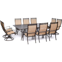 hanover-manor-11-piece-6-sling-dining-chairs-4-sling-swivel-rockers-60x84-inch-cast-table-mandn11pcsw4