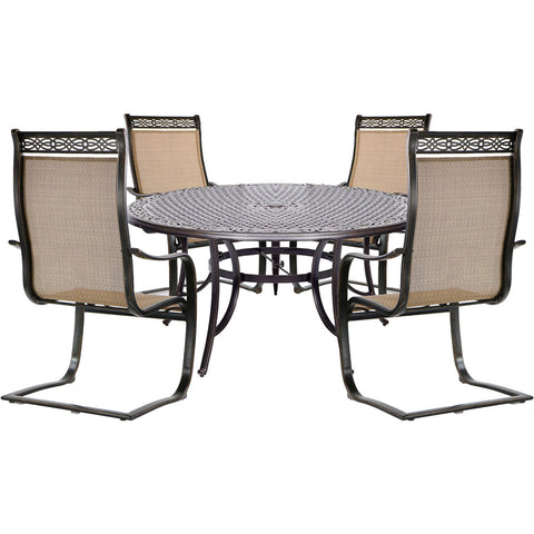 hanover-manor-5-piece-4-c-spring-chairs-60-inch-cast-table-mandn5pcsprd