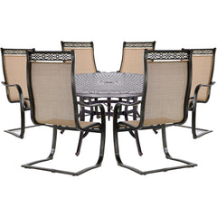 hanover-manor-7-piece-6-c-spring-dining-chairs-60-inch-round-cast-table-mandn7pcsprd