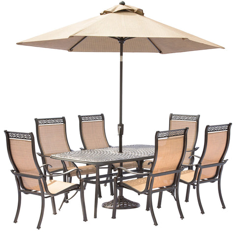 hanover-manor-7-piece-6-sling-dining-chairs-38x72-inch-cast-table-umbrella-base-mandn7pc-su