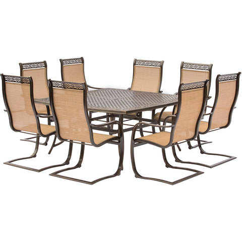 hanover-manor-9-piece-8-c-spring-chairs-60-inch-square-cast-table-mandn9pcsqsp