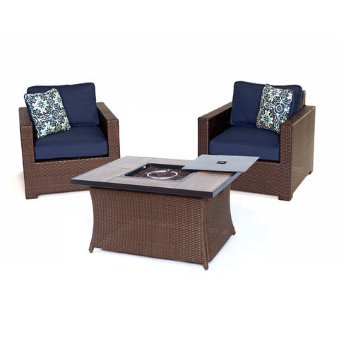 hanover-metro-3-piece-fire-pit-set-2-deep-seating-side-chairs-woven-fire-pit-coffee-table-met3pcfp-nvy-a