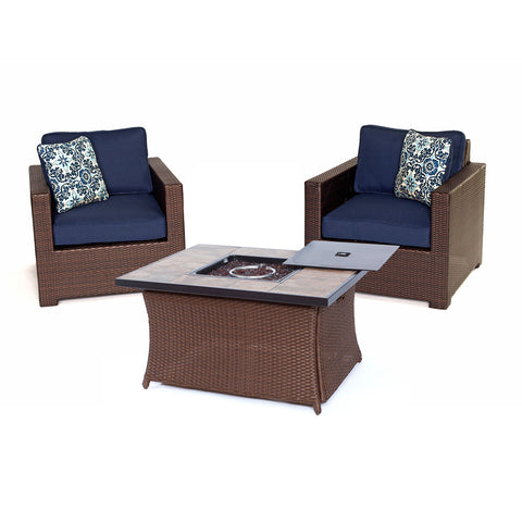 hanover-metro-3-piece-fire-pit-set-2-deep-seating-side-chairs-woven-fire-pit-coffee-table-met3pcfp-nvy-b