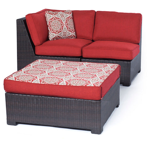 hanover-metro-mini-3-piece-set-corner-wedge-armless-chair-and-ottoman-with-cushions-metmn3pc-b-red