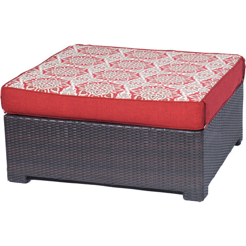 hanover-metro-mini-ottoman-and-reversible-cushion-metmnott-red