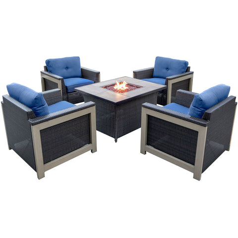 hanover-5-piece-fire-pit-set-4-deep-seating-chairs-coffee-table-fire-pit-woodgrain-tile-mnt5pcfp-nvy-wg