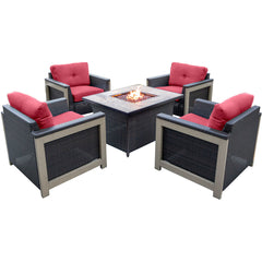 hanover-5-piece-fire-pit-set-4-deep-seating-chairs-coffee-table-fire-pit-with-tan-tile-mnt5pcfp-red-tn