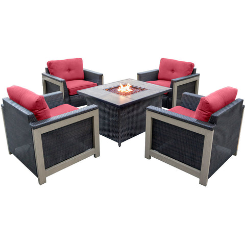 hanover-5-piece-fire-pit-set-4-deep-seating-chairs-coffee-table-fire-pit-woodgrain-tile-mnt5pcfp-red-wg