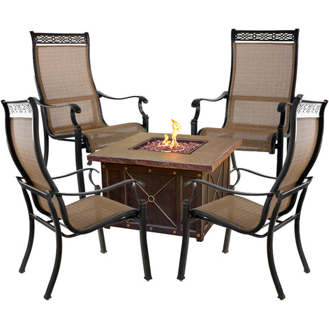 hanover-monaco-5-piece-fire-pit-set-4-sling-chairs-and-durastone-fire-pit-mon5pcdfp