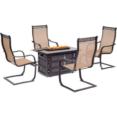 hanover-monaco-5-piece-fire-pit-4-c-spring-chairs-rectangle-kd-fire-pit-with-tile-mon5pcrecsp4fp
