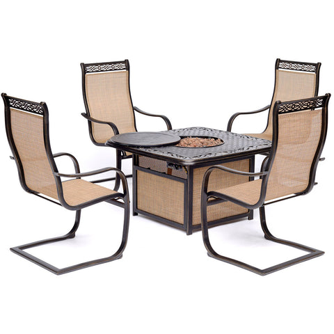 hanover-monaco-5-piece-fire-pit-set-4-c-spring-chairs-and-cast-top-fire-pit-mon5pcsp4cfp