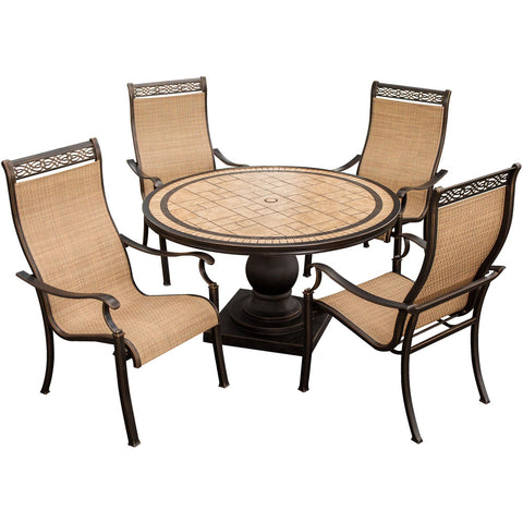 hanover-monaco-5-piece-4-sling-dining-chairs-51-inch-round-tile-top-table-monaco5pc