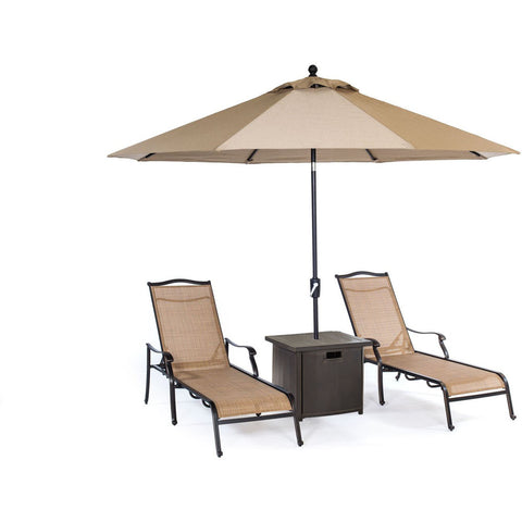 hanover-monaco-3-piece-set-2-sling-chaise-lounges-25-inch-square-umbrella-table-and-umbrella-monchs3pc-sq-su