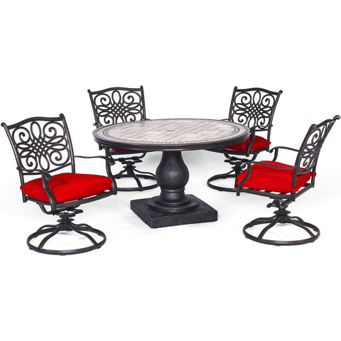 hanover-monaco-5-piece-4-cushion-sling-swivel-rockers-51-inch-round-tile-top-table-mondn5pcsw-4-red