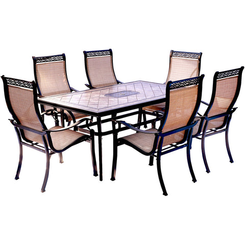 hanover-monaco-7-piece-6-sling-dining-chairs-40x68-inch-tile-top-table-mondn7pc