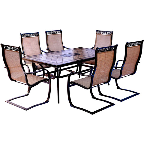 hanover-monaco-7-piece-6-c-spring-chairs-40x68-inch-tile-top-table-mondn7pcsp