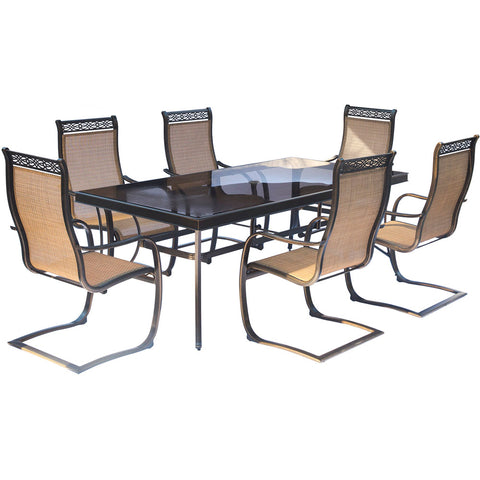 hanover-monaco-7-piece-6-c-spring-chairs-42x84-inch-glass-top-table-mondn7pcspg