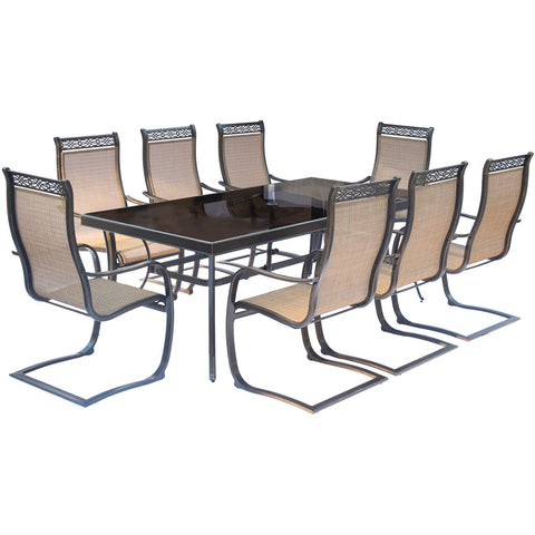 hanover-monaco-9-piece-8-c-spring-chairs-42x84-inch-glass-top-table-mondn9pcspg