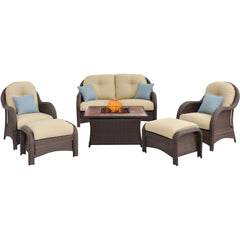 hanover-newport-6-piece-fire-pit-set-with-tan-tile-top-newpt6pcfp-crm-tn