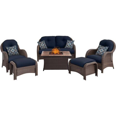 hanover-newport-6-piece-fire-pit-set-with-tan-tile-top-newpt6pcfp-nvy-tn