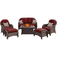 hanover-newport-6-piece-fire-pit-set-with-wood-grain-tile-top-newpt6pcfp-red-wg