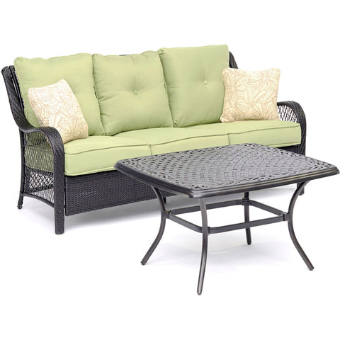 hanover-orleans-2-piece-sofa-cast-top-coffee-table-orl2pcct-grn