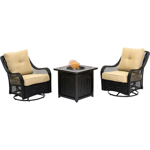 hanover-orleans-3-piece-2-swivel-gliders-and-26-inch-square-fire-pit-orl3pcfpsq-tan