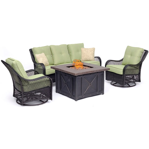 hanover-orleans-4-piece-fire-pit-sofa-2-swivel-gliders-and-durastone-fire-pit-orl4pcdfpsw2-grn