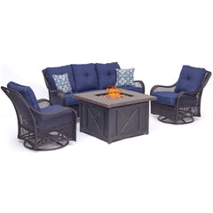 hanover-orleans-4-piece-fire-pit-sofa-2-swivel-gliders-and-durastone-fire-pit-orl4pcdfpsw2-nvy