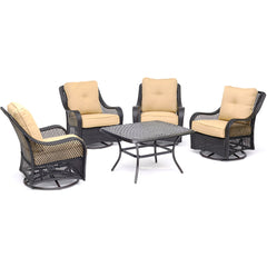 hanover-orleans-5-piece-4-swivel-gliders-cast-top-coffee-table-orl5pcctsw4-tan