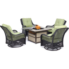hanover-orleans-5-piece-fire-pit-4-swivel-gliders-square-kd-fire-pit-with-tile-orl5pcsw4sqfp-grn