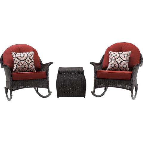 hanover-san-marino-3-piece-set-2-woven-rocking-chairs-one-side-table-smar-3pc-red