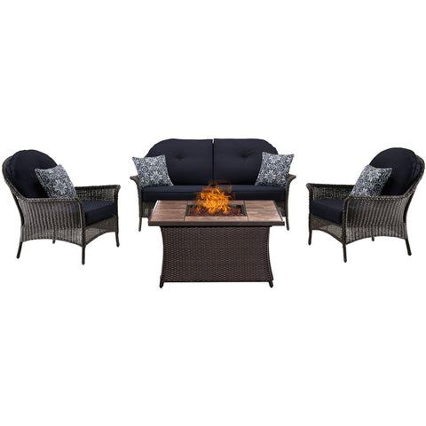 hanover-san-marino-4-piece-fire-pit-set-with-tan-tile-top-smar4pcfp-nvy-tn
