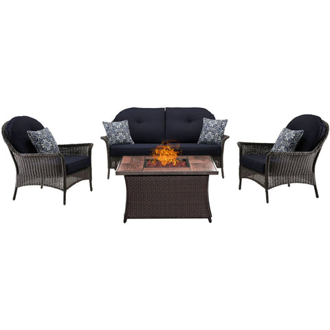 hanover-san-marino-4-piece-fire-pit-set-with-wood-grain-tile-top-smar4pcfp-nvy-wg
